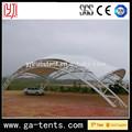 Pvdf cubierta, la estructura de acero para el estacionamiento de coches