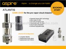 Una buena noticia!!! El más reciente aspire glassomizer aspire glassomizer atlantis con control de flujo de aire