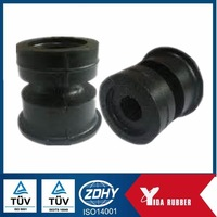China made column rubber buffer mounted on the car with good abrasion features