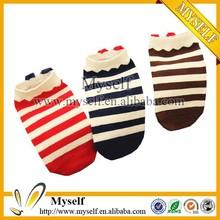 Colorful Women Ankle Stripe Socks