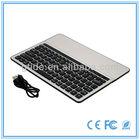 Top quality best selling 10.1'' mini bluetooth spanish keyboard for ipad