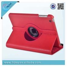 360 rotating pu leather case for ipad mini 3