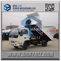 Factory dirct sell 4x4 mini dump truck dfm mini truck 3 ton 4 ton 5 ton dump trucks for sale