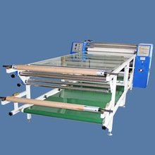 Large format fabric roll to roll heat press machine