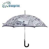 best quality polka dot and cheap straight umbrella for sale