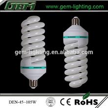 Full Spiral With Big Watt Energy Saving Lamp E27 85w