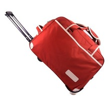 2014 Most Popular Advertising Nylon Travelling Duffel Bags with Trolley