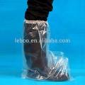 Fabricação para descartável capa bota de plástico