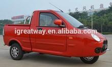 eec approved 3 wheel gasoline pickup truck