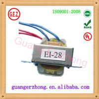 RoHS Pure copper high quality ei 24 autotransformer transformer
