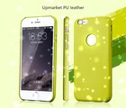 Newest official PU leather Case for IPhone 6 back cover