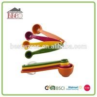 Reliable quality colorful mini plastic coffee measuring spoon