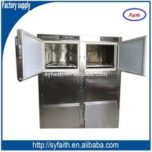 6 corpses mortuary refrigerator/medical refrigerator/morguerefrigerator/stainless steel refrigerator