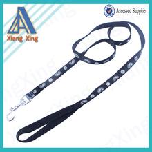 High Quality Silk Screen Printing Dog Collars Leash Nylon Dog Leash