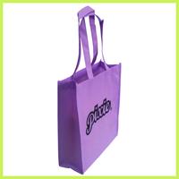 shopping purple Organ Bag Non Woven Bag Gusset Bag