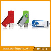 bulk 2gb swivel usb flash memory with logo printing
