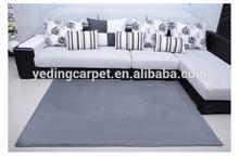 2cm Super Soft Plain Shaggy Nylon Printed Carpet