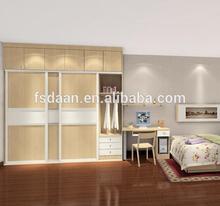wooden sliding folding wardrobe design