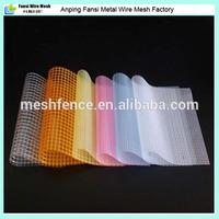 Plastering reinforced material fiberglass mesh for building