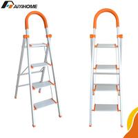 Multifunctional portable collapsible aluminium ladder