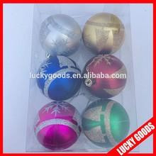 2014 new product decorative popular christmas ball