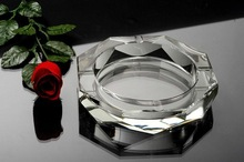 Modern Promotional Gifts Crystal Glass Cigar Ashtray MH-6129