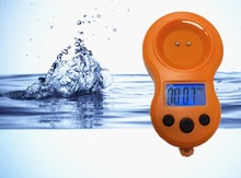 TDS&Time two function completely waterproof mini TDS meter