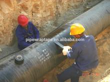 PE corrosion system underground black pipe wrap tape