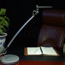 touch sensor sand nickel restaurant table lamp