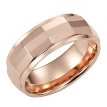 2015Fashion Mens Tungsten Ring 8mm Band
