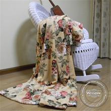 queen size Guangzhou coral fleece woven acrylic blankets