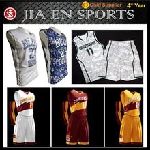 Wholesale blank basketball uniforms reversible,custom youth 2014 best basketball jersey design