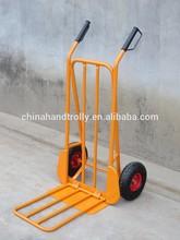 steel folding transport hand cart trolley / hand pallet truck
