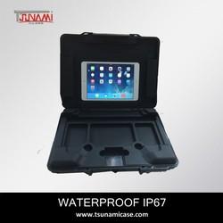 #322505 Tsunami professional hard waterproof plastic carrying case for ipad