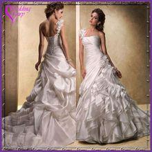TOP SELLING!!! OEM Factory Custom Design bridal dress satin pouch