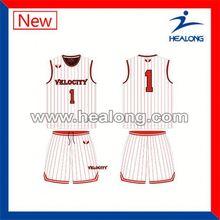 Healong Dye Sublimation Paypal Jersey Basketball