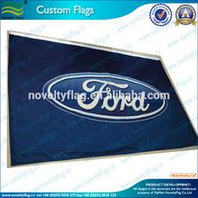 Encargo de la bandera decorativa para publicidad de coches
