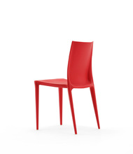Injection molded stacking plastic bellni chair PP-121A