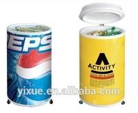 round electric beverage cooler 110v