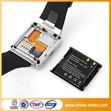 1.54 inch mtk6577 3G WIFI GPS Bluetooth Wrist Watch Phone Android