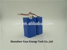 rechargeable li-ion battery 26650 3000mah lifepo4 battery pack usage