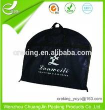 Super quality hot selling hockey garment bag clear plastic suit garment bag
