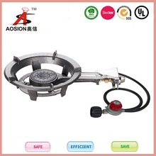 china supplier Portable powder coating round gas grill burner