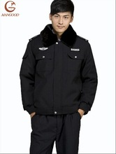 Tailored made high qality thicken secure uniform padded coat
