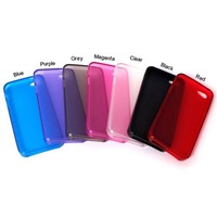 Ultrathin Semi Transparent TPU Case for iphone 5 5s Cell Phone Case