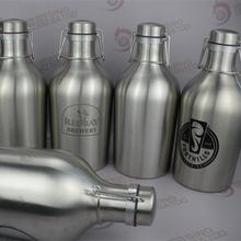 Swing-top Stainless steel beer bottle for draft beer tower 400l lager beer brands