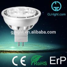 wide angle 3 watt led spot light gu5.3 aluminium die casting