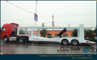 2014New type Car carrier semi trailer for sale