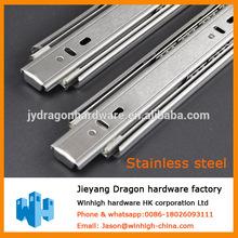 Telescopic channel Stainless steel drawer slide