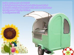 Jancole CE JC-1165 Electric Mobile Pizza Vending Machines, Restaurant appliance waffle hot dog/hot dog carts